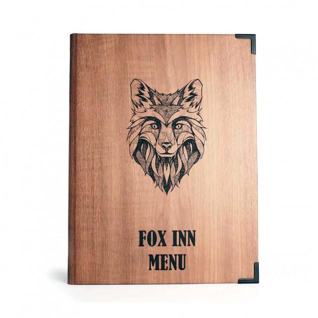Wooden Menu Books